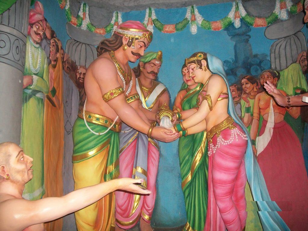 Ravana and Mandodari