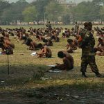 Strip down to your underwear: Indian Army's no-cheating formula