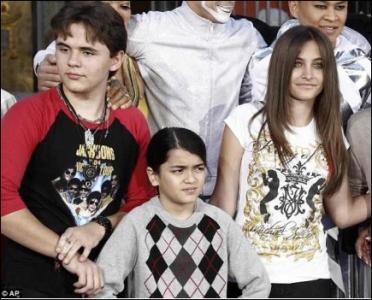 Children of popstar MJ