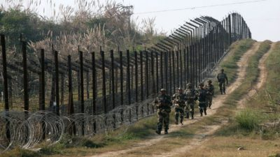 Indo-Pak border in Kashmir is always a point of dispute