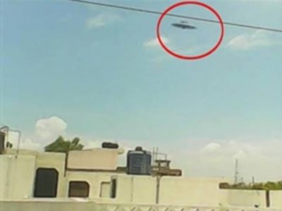 A Kanpur boy was capturing clouds, and when he developed the pictures, he was surprised to see a UFO in his snaps.