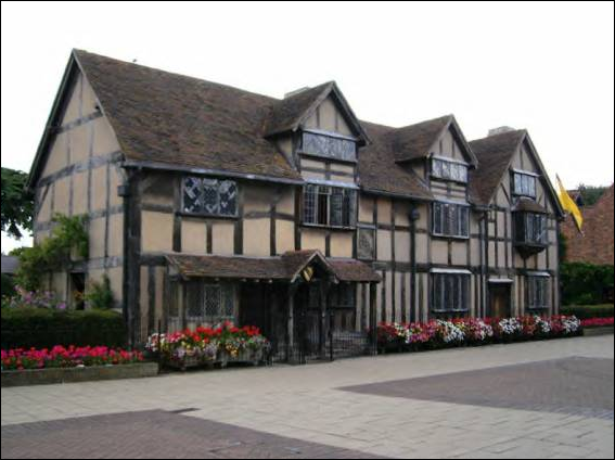 The Half-Timbered Buildings, Startford-upon-Avon.