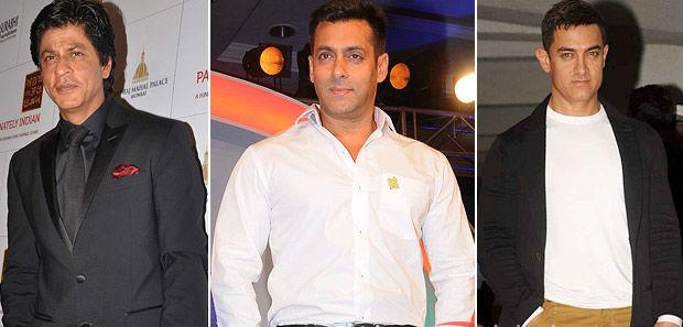 Shahrukh, Aamir, Salman