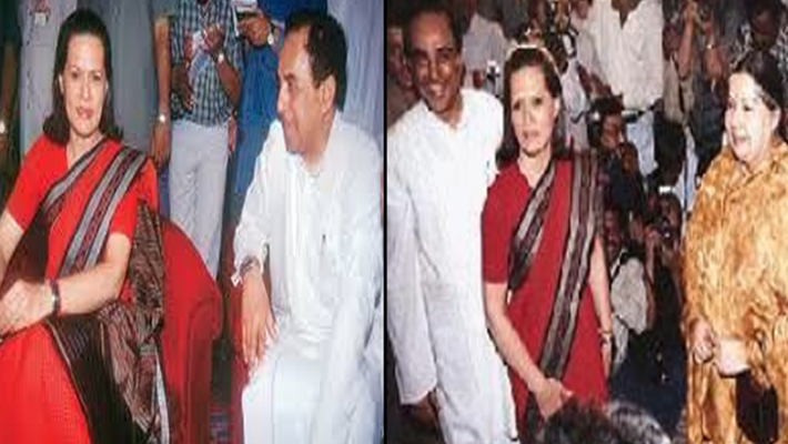 Subramanian Swamy and Sonia
