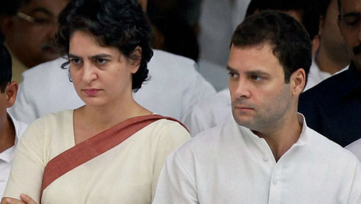 Priyanka and Rahul