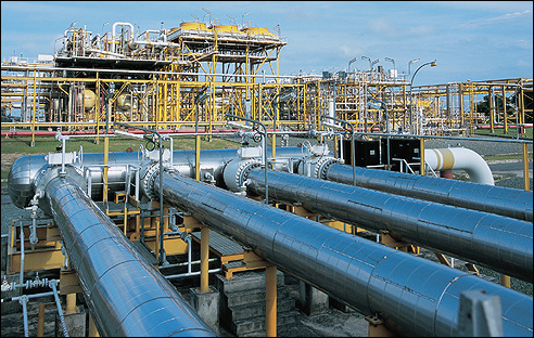 Punj Lloyd has its business in the oil and gas sector, among others,