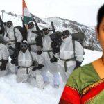 Smriti Irani to celebrate Raksha Bandhan with Siachen jawans. She is proving actions speak louder than words