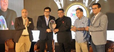 Arnab Goswami won IMPACT Person Of The Year, Award in 2015