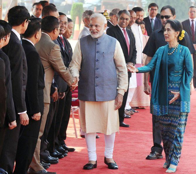 narendra modi myanmar visit