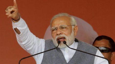 Modi in Gujrat elections