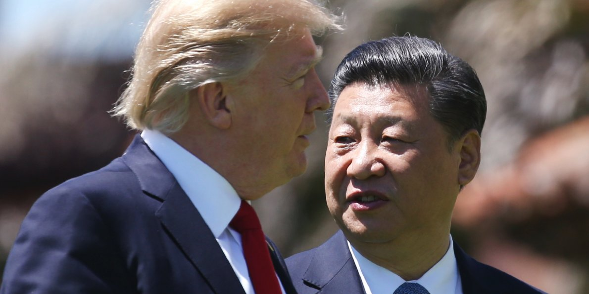 Trump-Xi low key relations