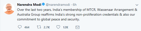 PM- Tweet_ Security Membership