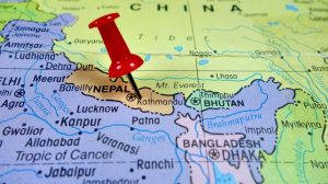 Nepal Geostrategic location