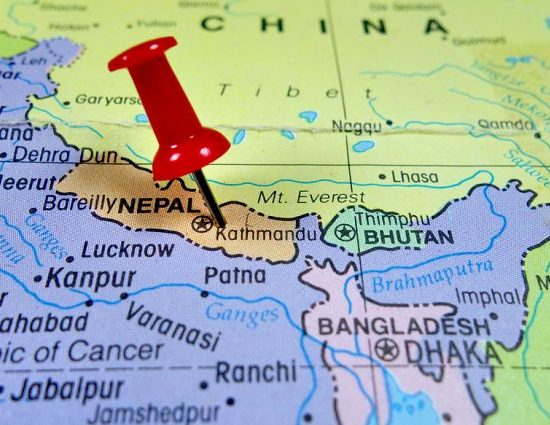 Nepal Geostrategic location