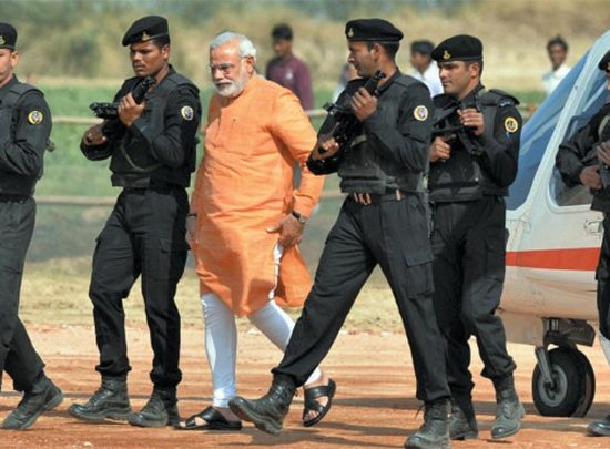 VVIP Security Protocal India_PM MODI