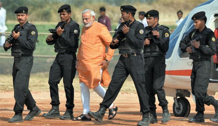 VVIP Security Protocal India_PM MODI