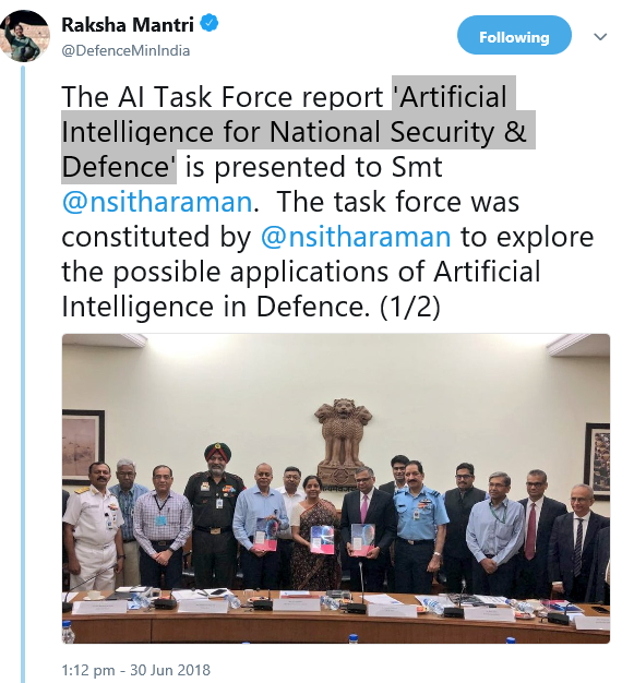 'Artificial Intelligence for National Security & Defence_1