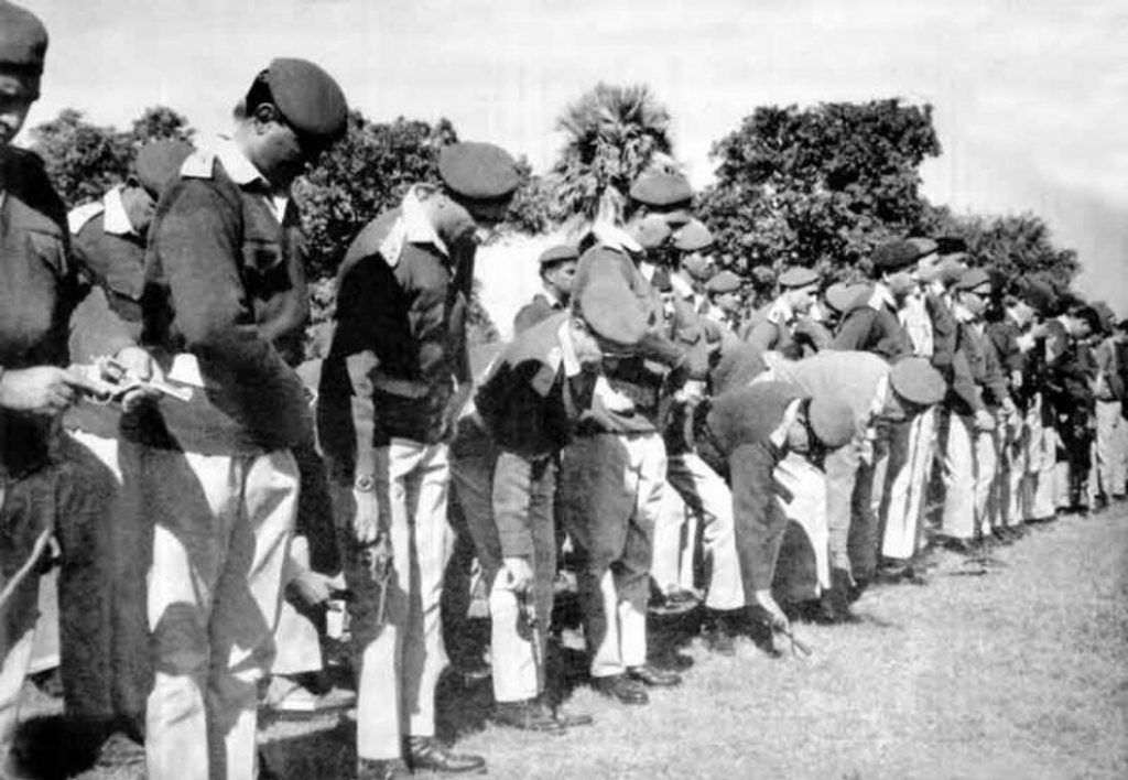 Vijay Diwas: Pakistani troops surrendering their arms to the Indian Military